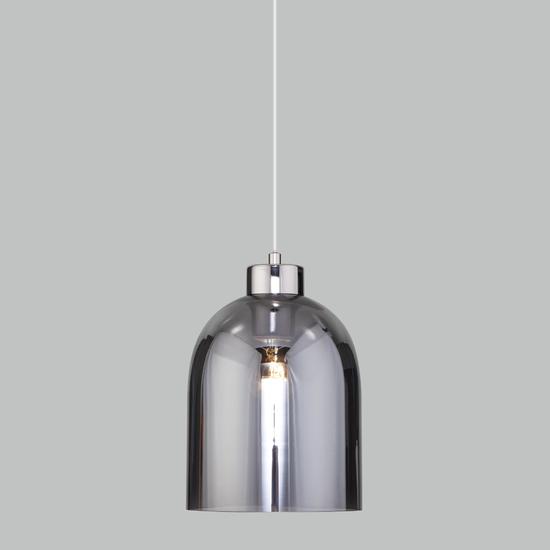Фото №2 Подвесной светильник со стеклянным плафоном 50119/1 никель