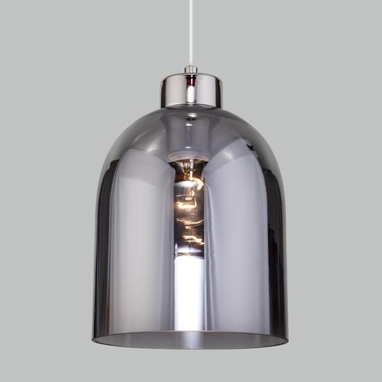 Фото №4 Подвесной светильник со стеклянным плафоном 50119/1 никель