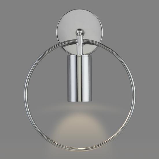 Фото №4 Настенный светильник с выключателем 20094/1 хром