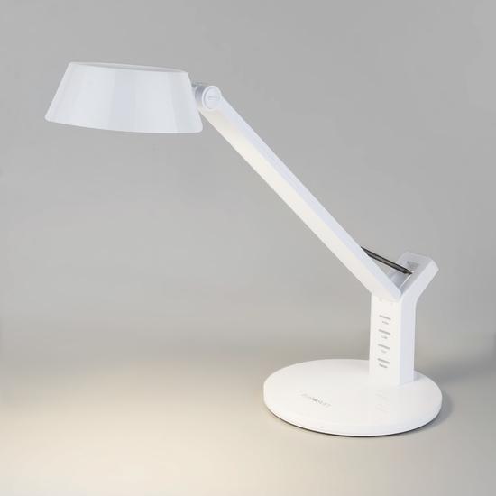 Фото №2 Светодиодная настольная лампа с сенсорным управлением 80426/1 белый