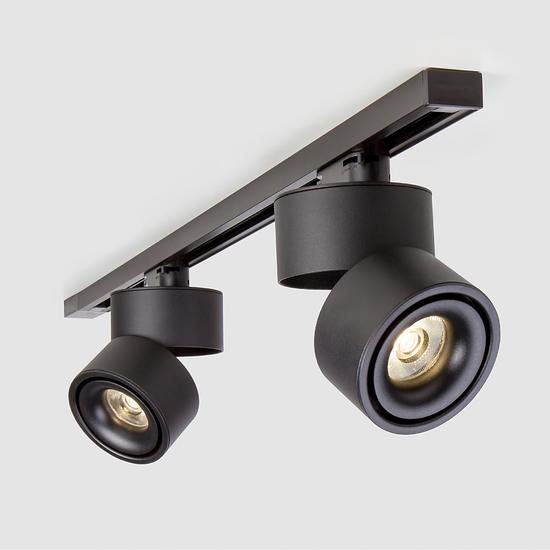 Фото №2 Светильник потолочный светодиодный Klips Черный 15W 4200K LTB21