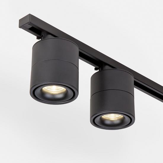 Фото №3 Светильник потолочный светодиодный Klips Черный 15W 4200K LTB21