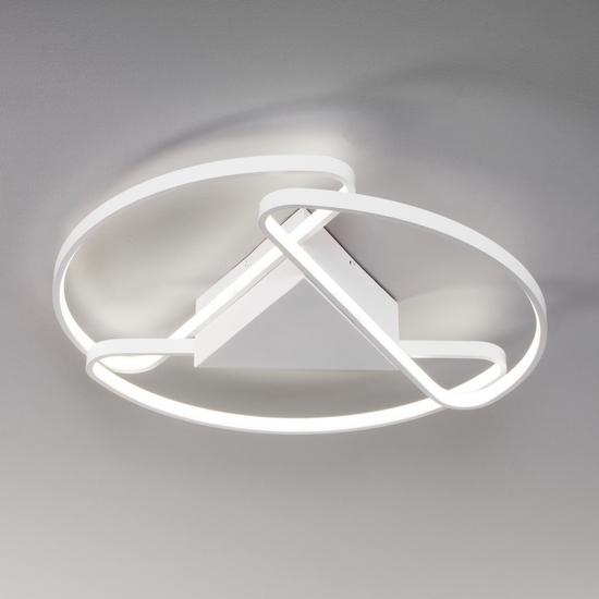 Фото №2 Потолочный светодиодный светильник с пультом управления 90232/3 белый