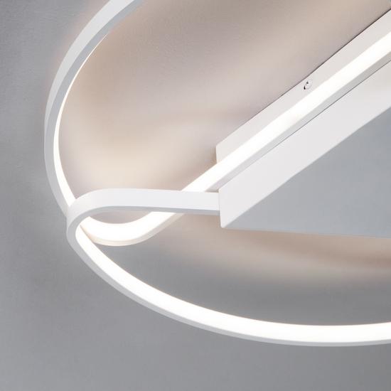 Фото №3 Потолочный светодиодный светильник с пультом управления 90232/3 белый