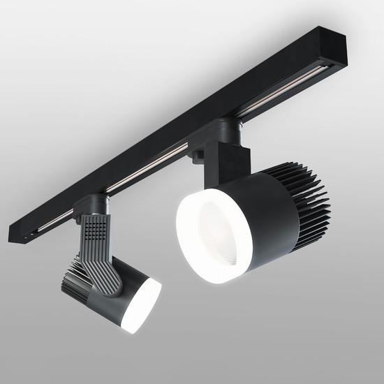 Фото №2 Светильник потолочный светодиодный Accord Черный 20W 4200K LTB36