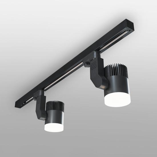 Фото №3 Светильник потолочный светодиодный Accord Черный 20W 4200K LTB36