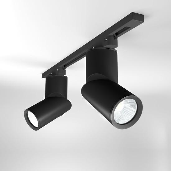 Фото №2 Светильник потолочный светодиодный Corner Черный 15W 4200K LTB33