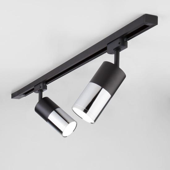 Фото №2 Светильник потолочный светодиодный Avantag Черный матовый/хром 6W 4200K LTB27