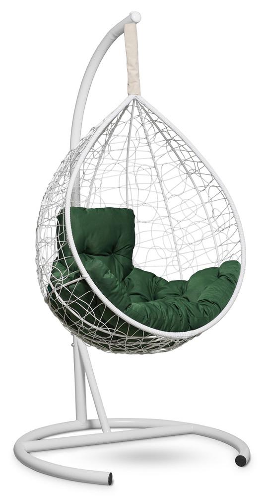 Фото №4 Подвесное кресло-кокон SEVILLA COMFORT белое + каркас
