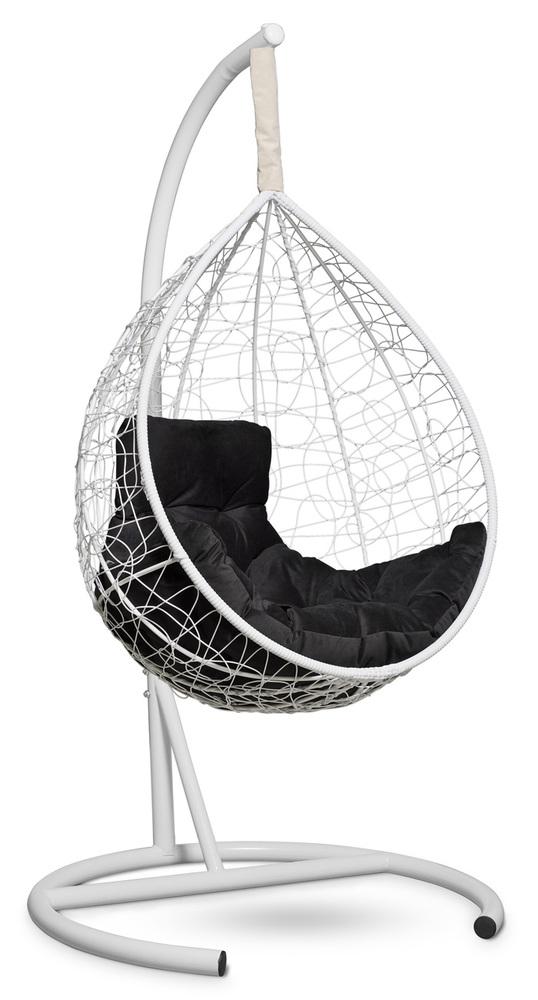 Фото №3 Подвесное кресло-кокон SEVILLA COMFORT белое + каркас