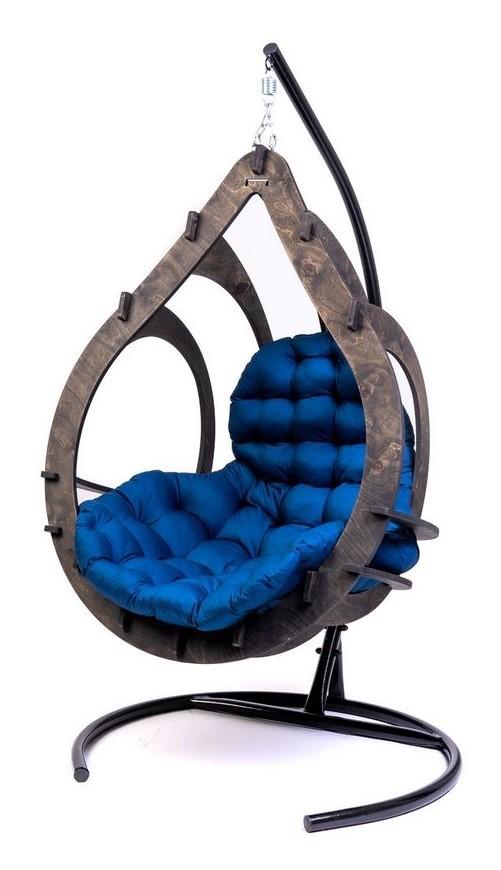 Фото №8 Подвесное кресло-кокон SEMERA цвет Эбеновое дерево