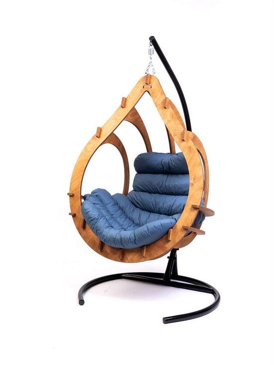 Фото №8 Подвесное кресло-кокон SEMERA  цвет Тик