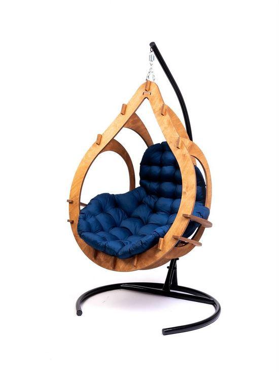 Фото №7 Подвесное кресло-кокон SEMERA  цвет Тик