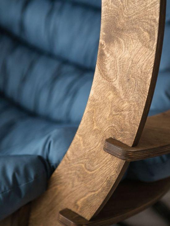Фото №13 Подвесное кресло-кокон SEMERA цвет Орех