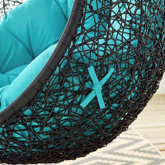 Фото №15 Подвесное кресло-кокон  ENCASE WICKER
