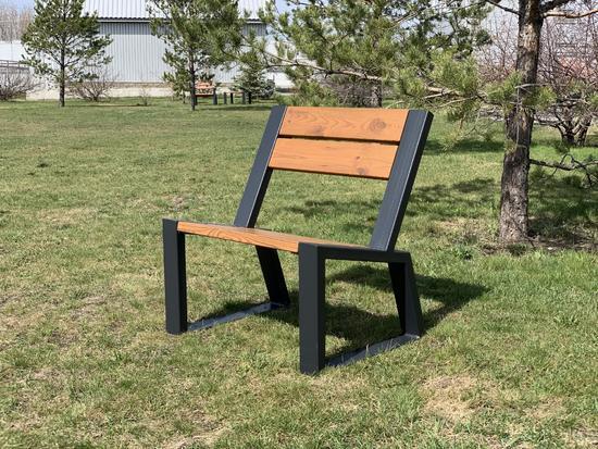 Фото №5 Кресло парковое с подлокотниками «Mountain» 740
