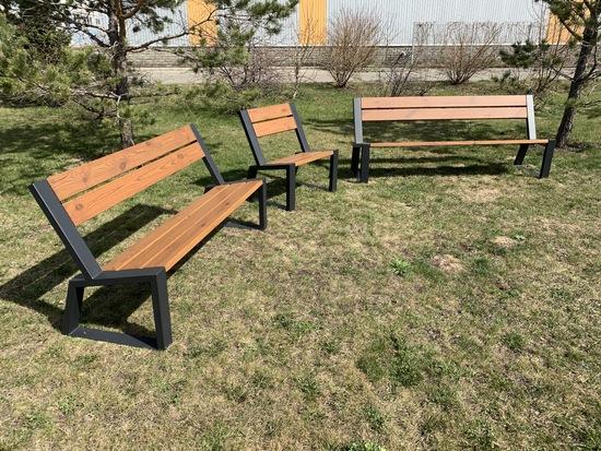 Фото №6 Кресло парковое «Stone» 740