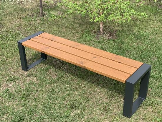 Фото №2 Скамейка парковая «Forest slim» 1600