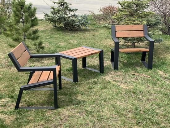 Фото №2 Комплект уличной мебели «Street Cafe Mountain» 740