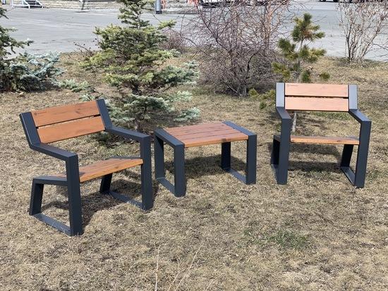 Фото №5 Комплект уличной мебели «Street Cafe Mountain» 740
