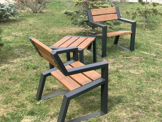 Фото №6 Комплект уличной мебели «Street Cafe Mountain» 740