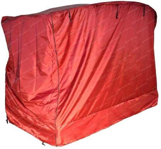 Фото №2 Чехол для садовых качелей МОНАКО (бордовый)