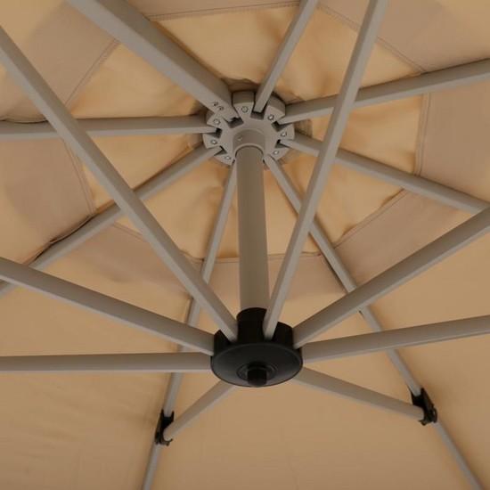 Фото №5 Садовый зонт Garden Way MONACO Кремовый арт. А002-3300