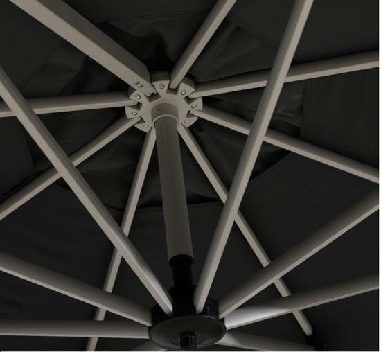 Фото №5 Садовый зонт Garden Way MONACO Графитовый арт. А002-3300