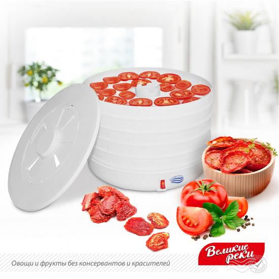 Фото №2 Сушилка для овощей и фруктов Великие Реки ВР-5