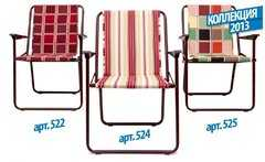 Фото №4 Кресло складное «Фольварк» с матрасом 1 см
