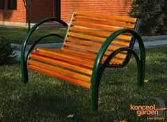 Фото №2 Кресло садовое СК