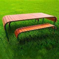 """Фото №3 Набор садовый """"Родео"""" (стол + 2 лавочки)"""