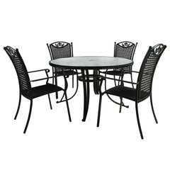 Фото №3 Столовый комплект VERONA (стол и 4 стула)