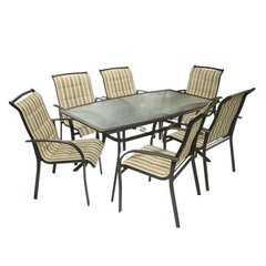 Фото №3 Столовый Комплект BORDO (бежево-коричневый)