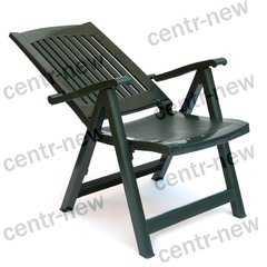 Фото №3 Кресло пластиковое складное