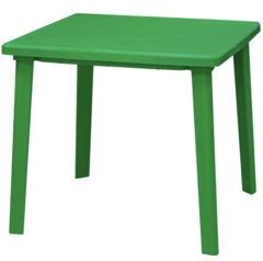Фото №2 Стол пластиковый квадратный 80х80см