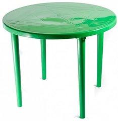 фото Стол пластиковый круглый 90 см