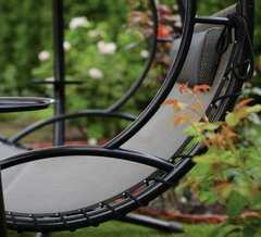 Фото №13 Подвесные садовые качели WAVE