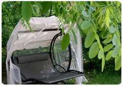 Фото №10 Подвесные садовые качели WAVE