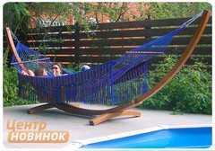 """Фото №4 Гамак """"KOLOMBUS"""" blue (двухместный)"""