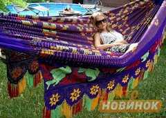 "Фото №3 Гамак ""Сhinchorro"" 852 фиолетово-желтый"