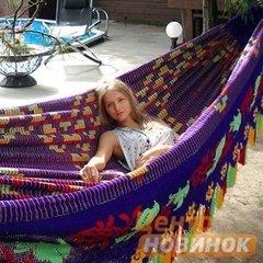 "фото Гамак ""Сhinchorro"" 852 фиолетово-желтый"