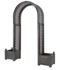 фото Садовая арка с ящиком для растений 37605