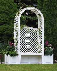 Фото №2 Садовая скамейка «Амстердам» код 43801