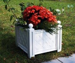 фото Квадратный ящик для растения к изгороди «Модуляр» 40101