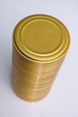 """Фото №3 Набор крышек металлических 50штук для консервирования 0,18 ж/ж """"Волжанка"""""""