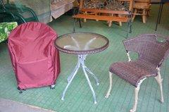 Фото №3 Чехол для стула пыле/водоотталкивающий