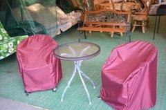 фото Чехол для стула пыле/водоотталкивающий