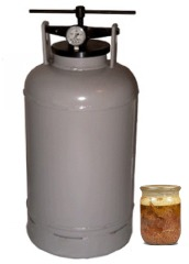 фото Автоклав (прибор для приготовления тушенки, 20 литров)