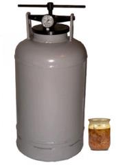 Фото №2 Автоклав (прибор для приготовления тушенки, 30 литров)